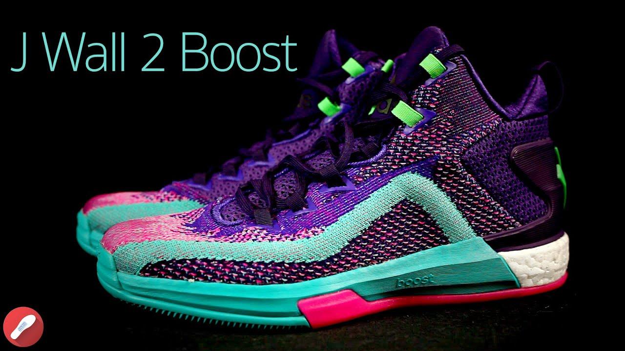 4d7f8c3a4a0e Adidas J. Wall 2.0 Boost First Impressions! - YouTube