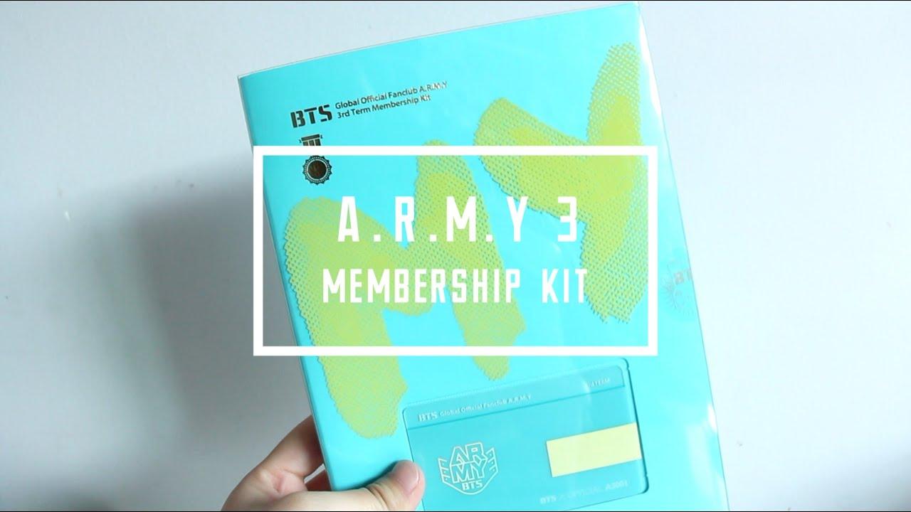 BTS Bangtan Boys Global Official Fanclub 3rd Term Membership photo card Jimin