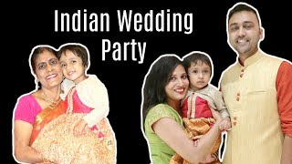 Indian Wedding Party .... #DIML | Shruti Arjun Anand