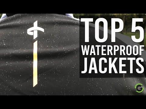 TOP 5 GOLF WATERPROOF JACKETS 2019/20