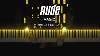 MAGIC! - Rude | Piano Cover by Pianella Piano видео