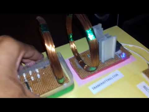Wireless power transfer system diploma final year project 2018
