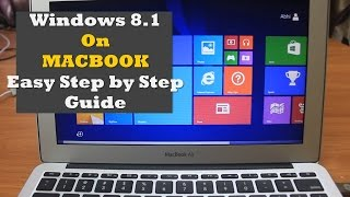 How to install Windows 8.1 on Macbook (Dual Boot)   Easy Step by Step Guide  