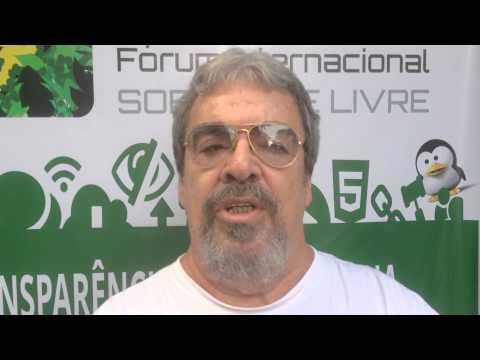 Eliane Souza da  Comunidade Libre Office entrevista Julio Cesar Neves