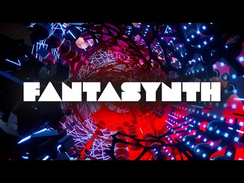 [ Fantasynth ] A psychedelic and futuristic electronic VR music visualizer