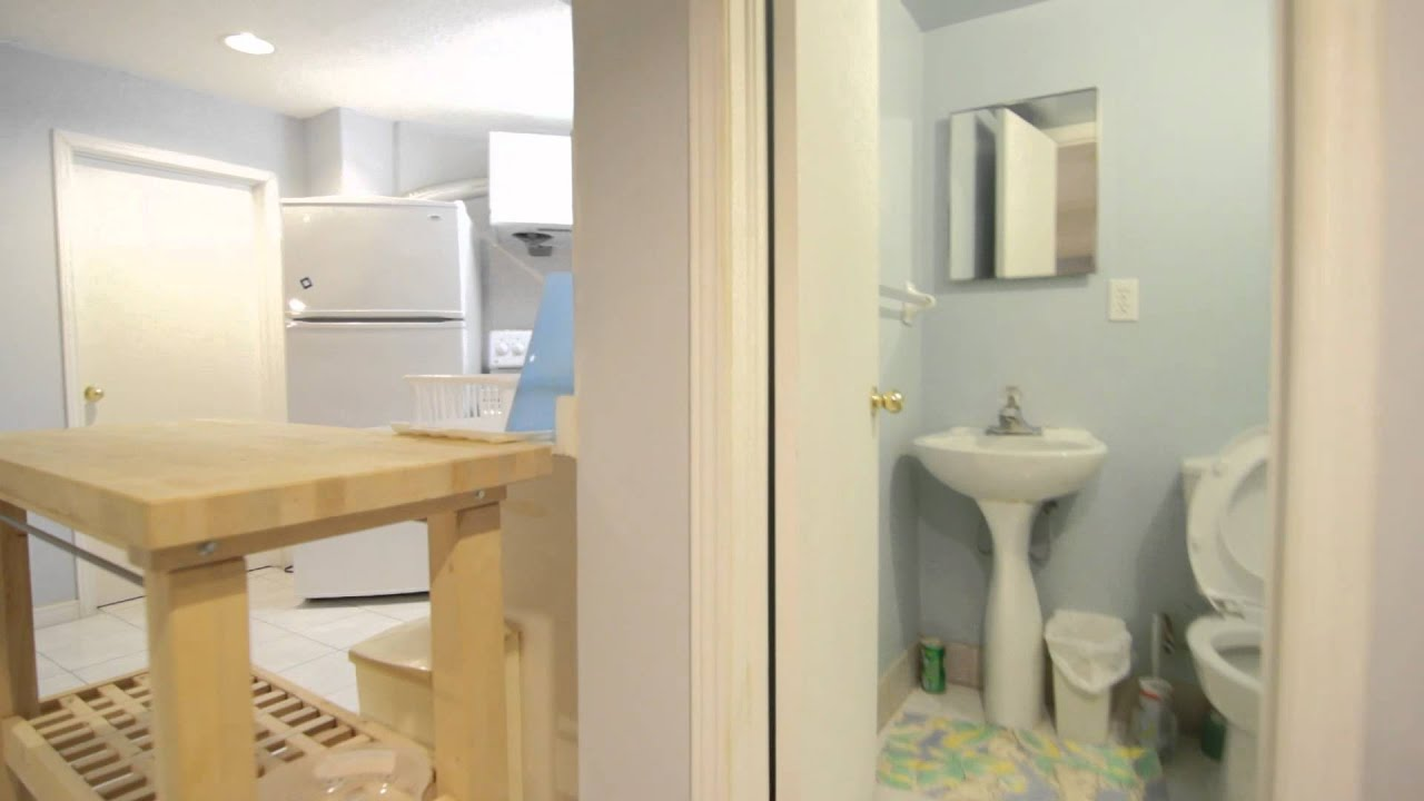 Basement For Rent Scarborough scarborough basement apartment for rent - youtube