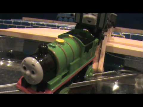 The Wooden Railway Series Percy Takes The Plunge