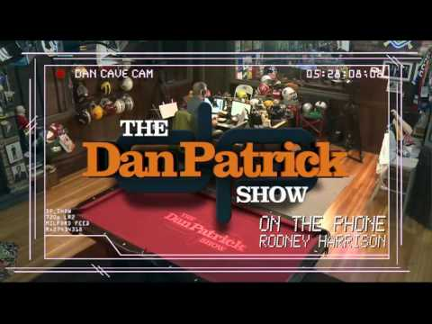 Rodney Harrison on The Dan Patrick Show (Full Interview) 12/17/15
