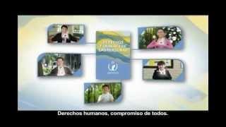 Participación de Julio Barrón en Cartilla de los Derechos y Deberes de las personas