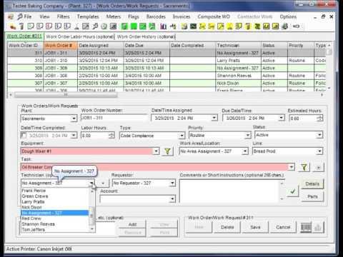 CMMS Software Quick Start Tour Part 1 of 3