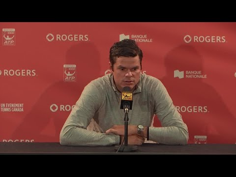 Raonic on early exit at Rogers Cup: Wanted a different story line here