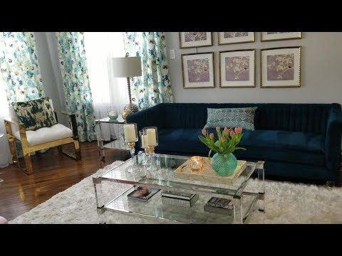 Living Room Spring Refresh On A Budget
