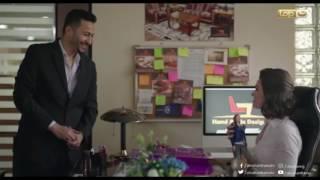 طاقة القدر|  حماده هلال بيفاجئ يسرا اللوزي بهدية حلوة في عيد ميلادها...الحب حلو حلو اوي Video