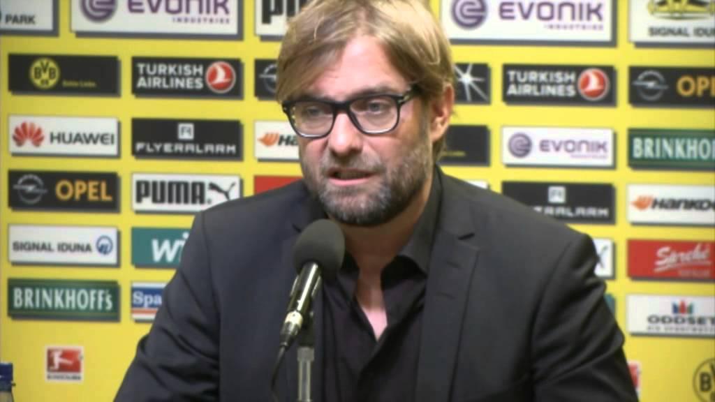 Klopp: 'Die richtige Konstellation' | Jürgen Klopp verlängert bei Borussia Dortmund bis 2018