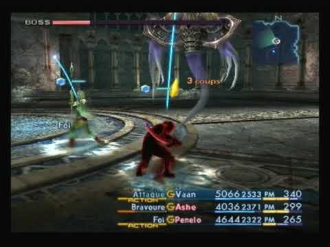 Final Fantasy XII Ahriman Palais enfoui de Sohen