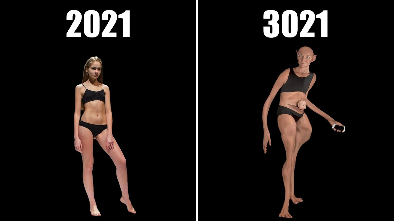 """The Truth Behind The """"Ideal"""" Human Body In Future"""