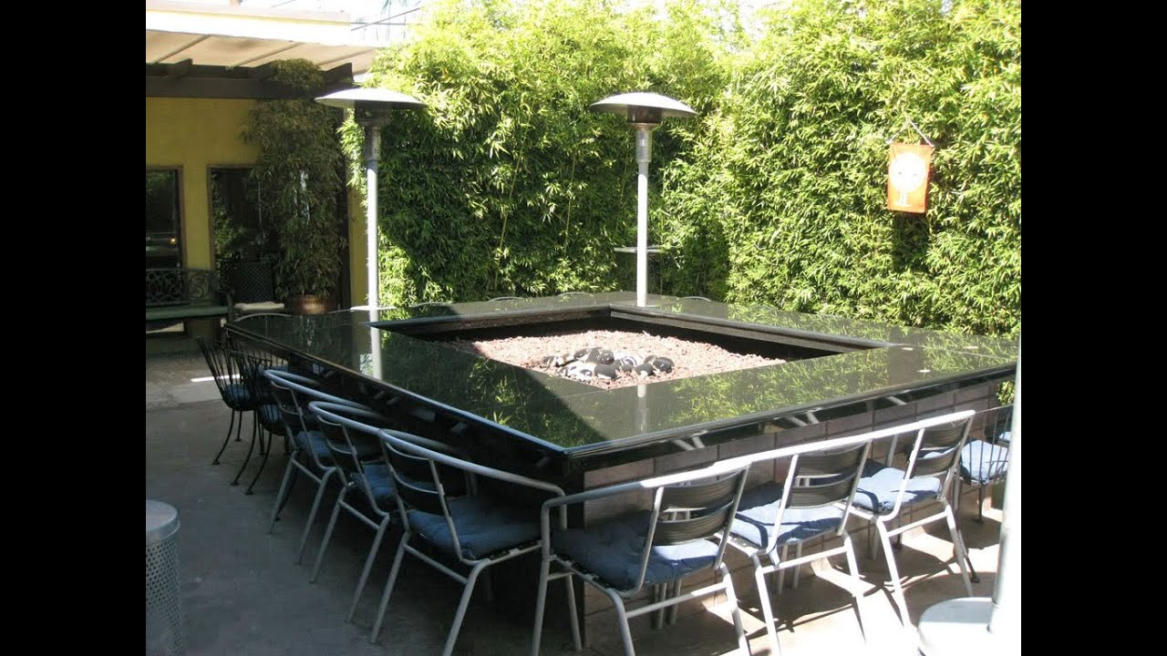 Merveilleux Fire Pit Table