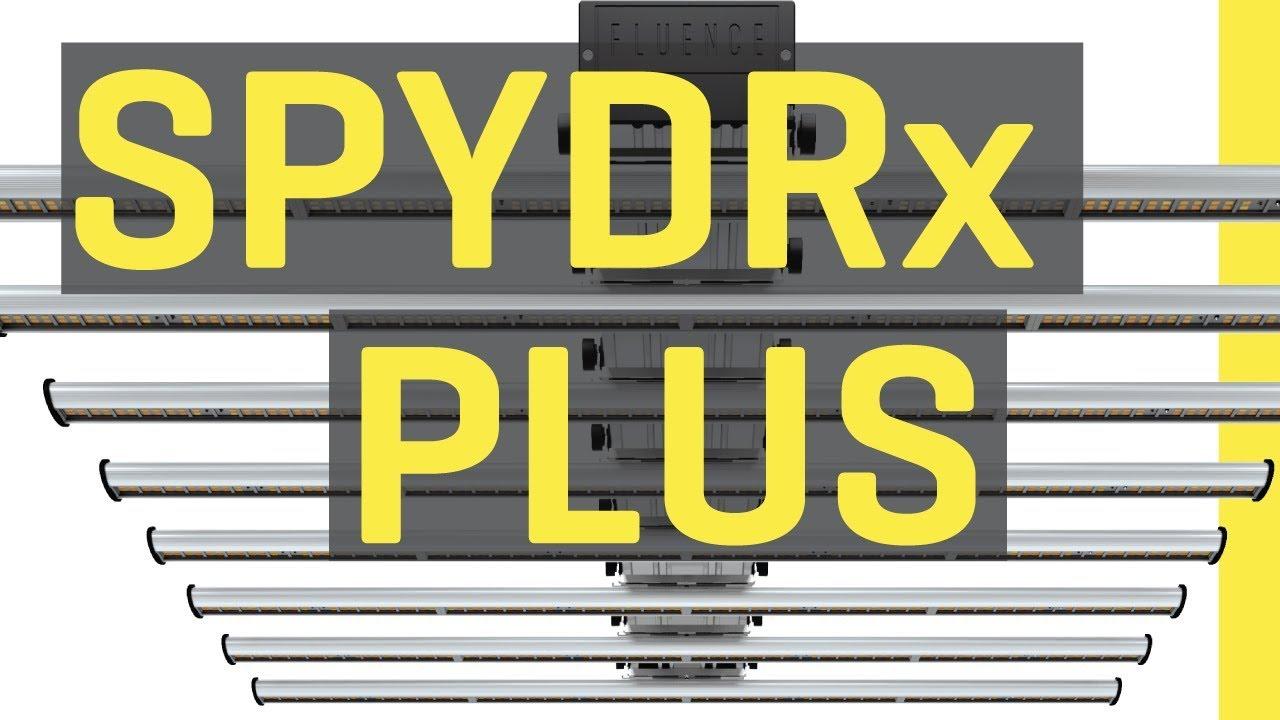 Fluence SPYDRx Plus LED Grow Light Review