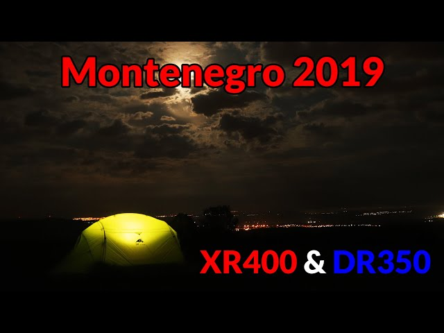 #2 Enduro Trip to Montenegro - road from Austria to Hungary and wild camping near Várpalota.