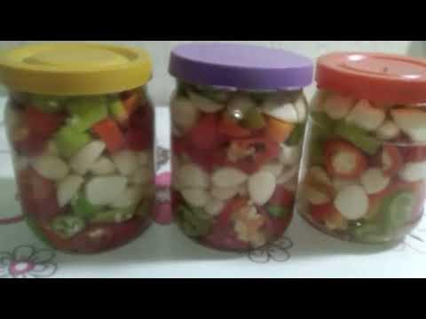 Как закрыть горький перец с чесноком