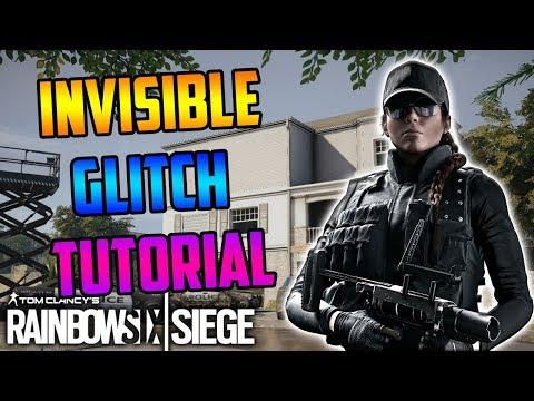 INSANE INVISIBLE GLITCH TUTORIAL! *INVISIBLE EVERYTIME* - Rainbow Six Siege
