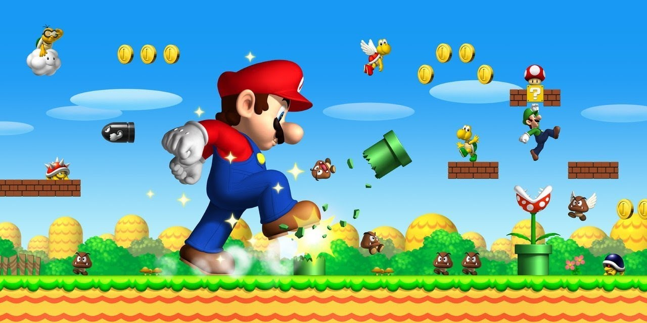 super mario games play online free youtube