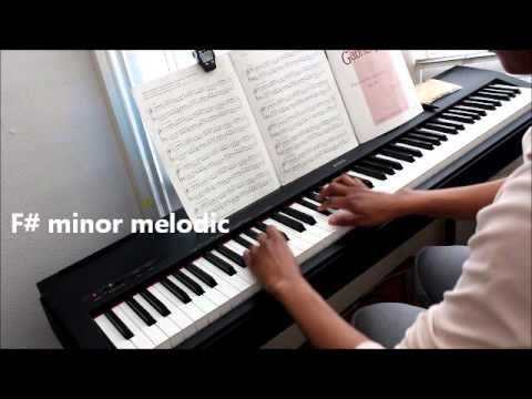 Grade 8 | Piano Scales ABRSM - YouTube