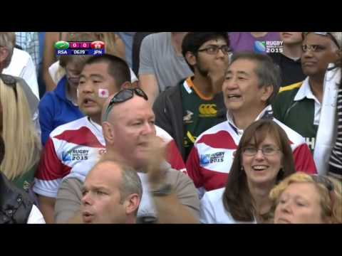 Republic of South Africa vs Japan Rugby World Cup 2015 19.09.15