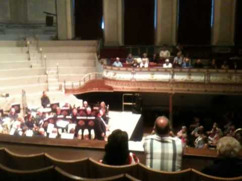 Paul Potts Performs Caruso In Huddersfield Town Hall 11th June 2011