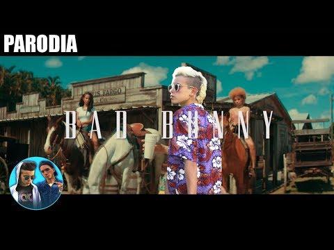BAD BUNNY - TU NO METES CABRA (PARODIA) -FRANJOELDIVER