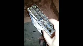 Поменять Радиатор печки Ваз 2114 не снимая Торпеды