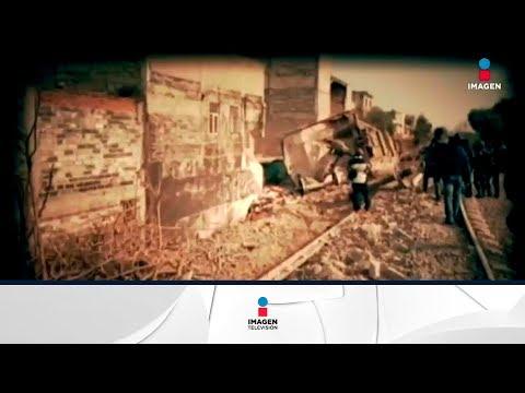 Descarrilamiento de tren en Ecatepec | Noticias con Yuriria Sierra