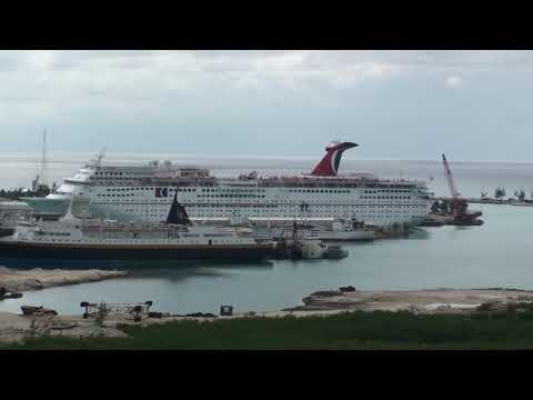 Carnival Triumph Dry-Dock