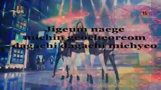 [Karaoke Lời Việt ] 4Minute - Crazy ( Instrumental with Vocal )