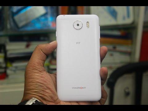 Symphony P7 Review (Budget Smart Phone )