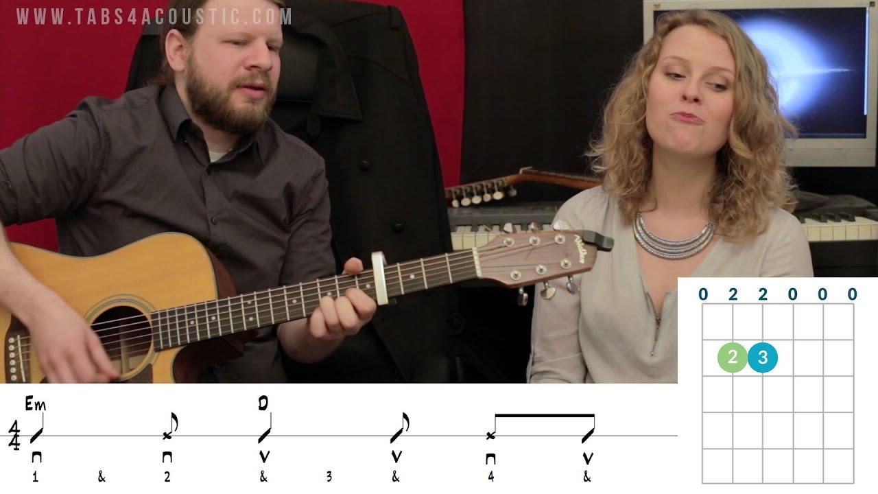 Talkin' about a revolution (Tracy Chapman) tuto guitare - Avec le chant