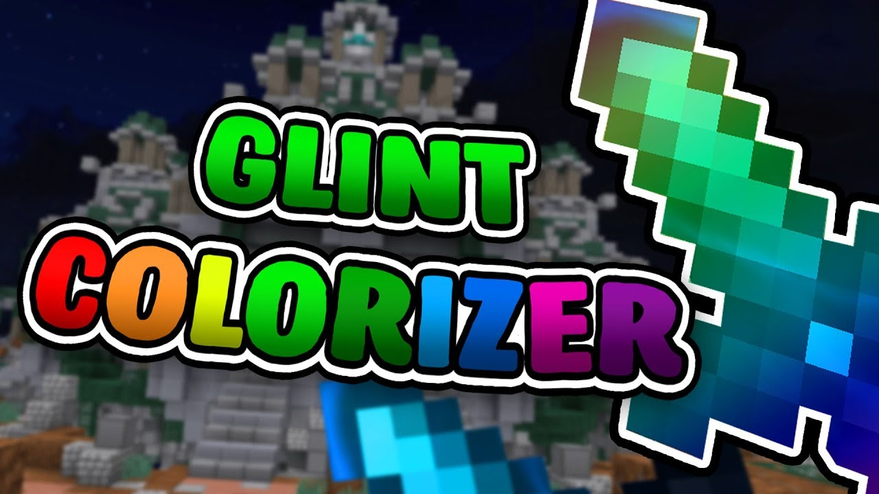 Glint Colorizer Mod RELEASE! (Chroma Enchant Effects)