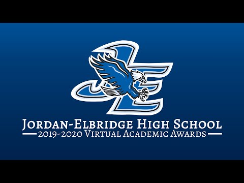 Jordan Elbridge High School Virtual Academic Awards Night 2019 2020