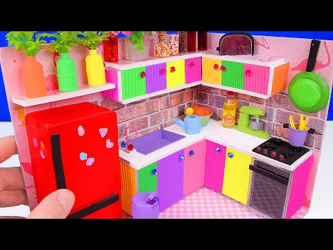 DIY Miniature Kitchen for Unicorns + Miniature Mixer