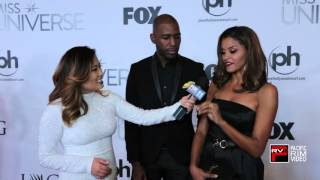 Karamo Brown and Claudia Jordan talk beauty pageants and Miss Universe