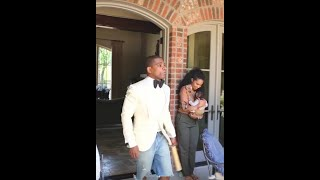 Kirk franklin surprised wife, daughter, and mother in law with a special video to tribute them on mother's day.