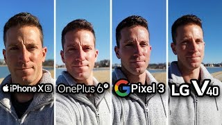 iPhone XS vs OnePlus 6T vs Pixel 3 vs LG V40! CAMERA TEST
