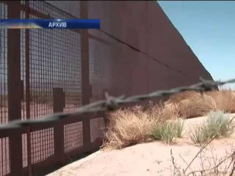 Стена на границе США и...