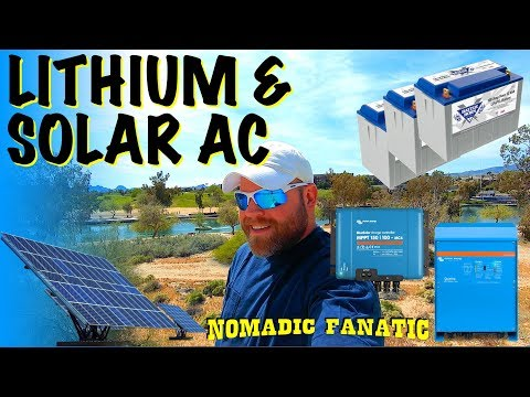 1280 Watts Solar, Victron & Lithium Install on RV