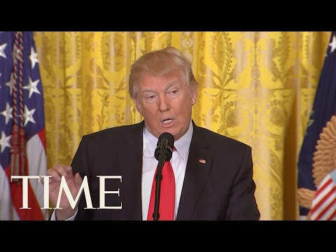 President Trump Announces Labor Secretary Nominee & Upcoming Executive Orders | TIME