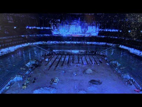 Las Vegas Stadium Allegiant Stadium Floor Waterlogged Due To Rain, Howard Terminal Ballpark Update