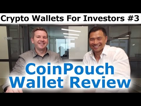 Cryptocurrency Wallets For Investors #3 - CoinPouch Mobile Wallet Review With Kirk Ballou & Tai Zen