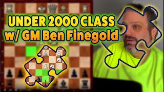 Under 2000 Class with GM Ben Finegold
