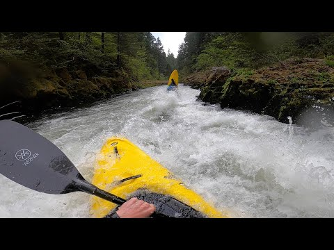 Upper White Salmon - May 1st 2020