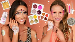 Neon Colorful Summer Makeup and Makeup Review